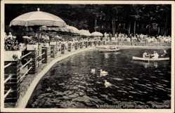 Postcard Wuppertal in Nordrhein Westfalen, Waldrestaurant Haus Juliana, G. Vesper