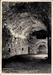 Postcard Dillenburg im Lahn Dill Kreis, Schloss, Große Durchfahrt unter Bollwerk