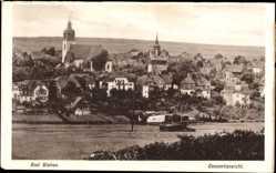 Postcard Bad Steben im Frankenwald Bayern, Panoramaansicht der Stadt