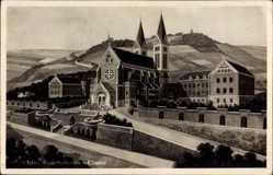 Postcard Cham am Fluss Regen Oberpfalz, Redemptoristen Kloster, Seitenansicht