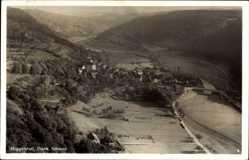 Postcard Muggendorf Wiesenttal im Kreis Forchheim Oberfranken, Blick auf den Ort