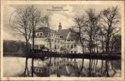 Postcard Oberhausen Sterkrade am Rhein, Blick auf das Real Gymnasium Konvict