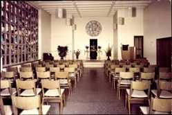 Foto Ak Lemförde in Niedersachsen, Diakonissen Mutterhaus, Kapelle