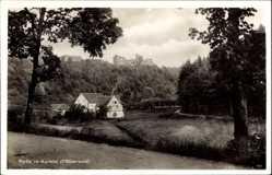 Postcard Trippstedt im Pfälzerwald, Partie im Karlstal, Hausansicht