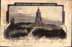 Künstler Ak Jander, Carl, Bad Frankenhausen, Das Kaiser Wilhelm Denkmal