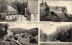 Postcard Tal bei Weismain, Kleinziegenfelder Tal, Gasthaus Tremel, Weihersmühle