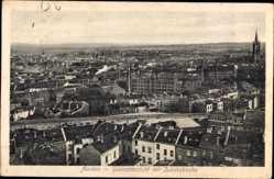 Postcard Aachen in Nordrhein Westfalen, Gesamtansicht mit Jakobskirche