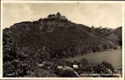 Postcard Nideggen in der Eifel, Kur und Kneippbad, Burg, Berg