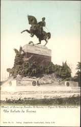 Postcard Torino Turin Piemonte, Monumento al Principe Amedeo di Savoia