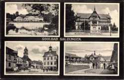 Postcard Bad Salzungen im Wartburgkreis, Kinderheilstätte Charlottenhall, Gradierhaus