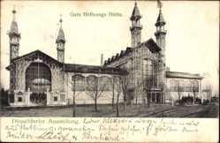 Postcard Düsseldorf am Rhein, Ausstellung, Blick auf Gute Hoffnungshütte