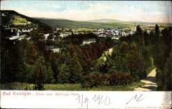 Postcard Bad Kissingen Unterfranken Bayern, Blick vom Ballings Hain