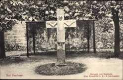 Postcard Bad Bentheim in Niedersachsen, Hergott von Bentheim, altes Kreuzbild