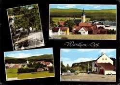 Postcard Waidhaus in der Oberpfalz, Deutsches Zollamt, Grenzübergang zur CSSR