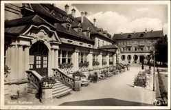 Postcard Bad Steben im Frankenwald Bayern, Das Staatliche Kurhaus