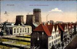 Postcard Mengede Dortmund im Ruhrgebiet, Zeche und Hansemannstraße