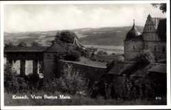 Postcard Kronach im Frankenwald Bayern, Veste Bastion Marie