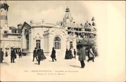 Cp Paris, Expo, Weltausstellung 1900, Chambre de Commerce
