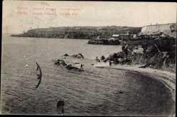 Postcard Odessa Ukraine, Grande Fontaine, La côte d'Ort, Goldener Winkel