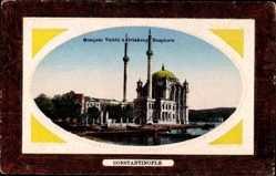 Präge Passepartout Ak Konstantinopel Istanbul Türkei, Mosquée valide, Ortakeuy