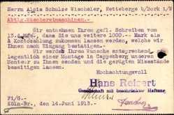 Postcard Köln Braunsfeld am Rhein, Hans Reisert G.m.b.H.