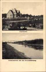 Postcard Friedrichsthal Oranienburg im Kreis Oberhavel, Grabowseebrücke