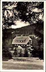 Postcard Schluchsee Schwarzwald, Die Jugendherberge Blasiwald