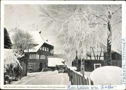 Postcard Ödenwald Loßburg im Kreis Freudenstadt, Adrionshof, Hugo Göckelmann