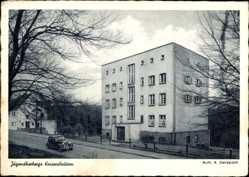 Postcard Kaiserslautern in Rheinland Pfalz, Partie an der Jugendherberge