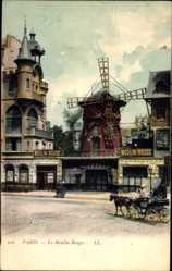 Postcard Paris, Le Moulin Rouge, Variété, Windmühle, Montmartre