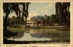 Postcard Mönchengladbach in Nordrhein Westfalen, Gebäude im Volksgarten