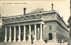 Postcard Paris Frankreich, Partie am Theatre National de l'Odeon