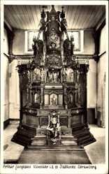 Postcard Schramberg im Kreis Rottweil, Arthur Junghans Kunstuhr i.d. Stadtkirche