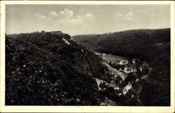 Postcard Lautern Blaubeuren Baden Württemberg, Gasthof zum Lamm, Carl Mann