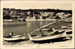 Postcard San Feliu de Guixols Katalonein, Costa Brava, Playa, Strand