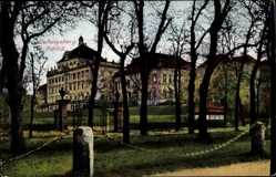 Postcard Ludwigsburg Baden Württemberg, Schloss, Parkanlage