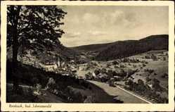 Postcard Nordrach im badischen Schwarzwald, Gesamtansicht, Landschaft, Wald