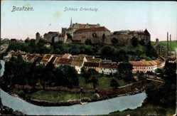 Postcard Bautzen in der Lausitz, Ansicht Schloss Ortenburg