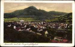 Postcard Annweiler Trifels, Burgdreifaltigkeit, Stadt, Berge