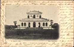 Postcard Hue Annam Vietnam, Comat du Conseil Secret, Geheimratshaus