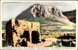 Postcard Corinth Griechenland, La Fontaine de Styx, Bergansicht