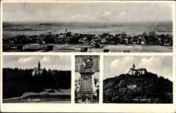 Postcard Gompertshausen in Thüringen, Feste Heldburg, St Ursula, Kriegerdenkmal