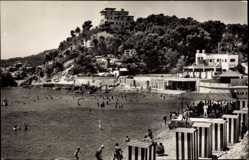 Postcard Palma Mallorca Balearische Inseln, Playa de Calamayor, Strand