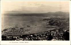 Postcard Valparaíso Chile, Seccion Baron, Vogelschau, Bucht, Hafen, Ort