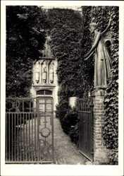 Postcard Marienthal Hamminkeln am Niederrhein, Eingang zur Kirche