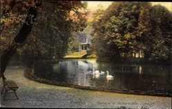 Postcard Viersen in Nordrhein Westfalen, Partie an der Kaisermühle