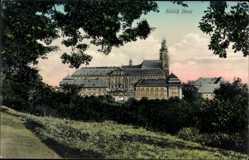 Postcard Bad Staffelstein am Main Oberfranken, Blick auf das Schloss Banz