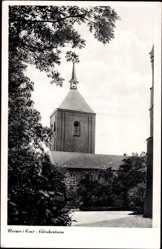 Postcard Wenner Ems, Ansicht vom Glockenturm, Kirchturm