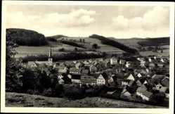 Postcard Poppenhausen Wasserkuppe, Röhn, Maulkuppe und Milseburg