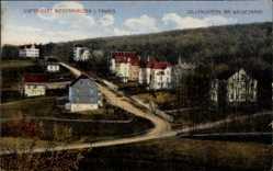 Postcard Niedernhausen Taunus Hessen, Villenviertel am Waldesrand